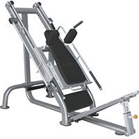 Poste cuisses et mollets Leg Press Hack Squat Heubozen - Fitnessboutique