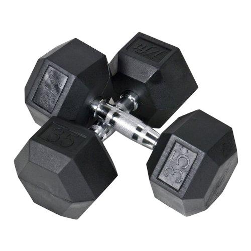 Heubozen Pack Haltères Hexagonaux 1 à 10 kg et Rack