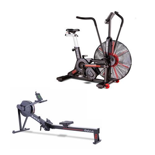 Fitness Heubozen WindBike + Blackelite