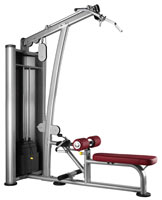 Poste dos et lombaires Bh fitness Lat pull