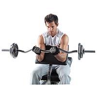 Postes isolés Kettler Pupitre à Biceps pour Primus / Alpha Pro