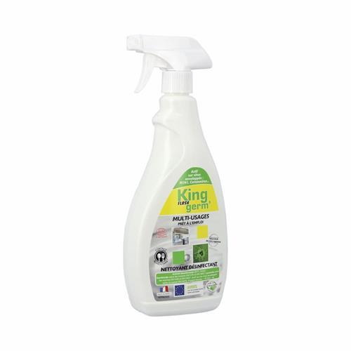 Entretien et Options Nettoyant désinfectant - 750 ml King Germ' - Fitnessboutique