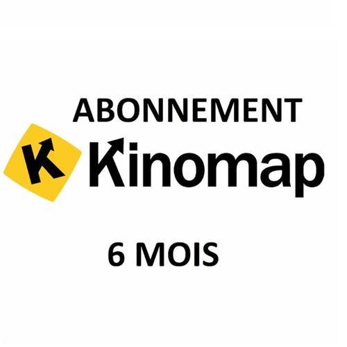Coaching Abonnement 6 mois Kinomap Kinomap - Fitnessboutique