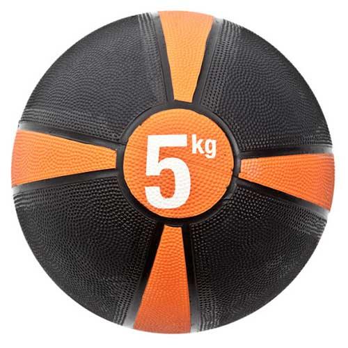 FITNESS-MAD Medecine Ball 5kg - orange/noir