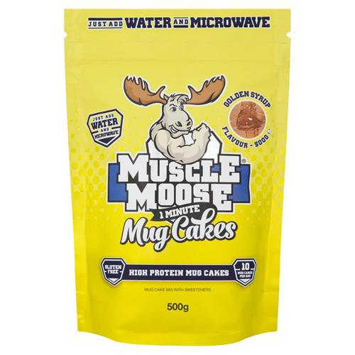 Cuisine - Snacking Muscle Moose 1 Minute Mug Cakes