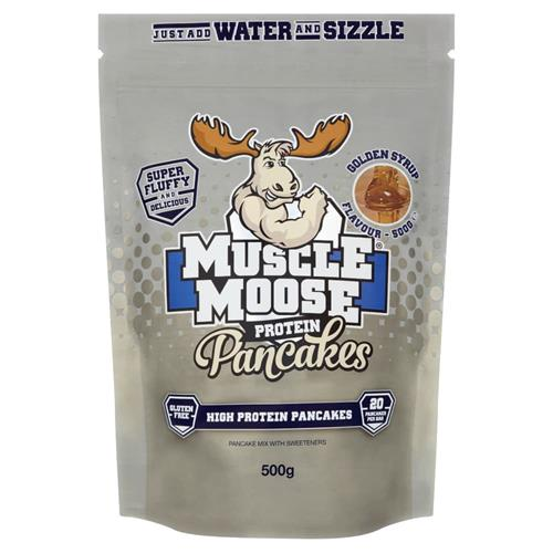 Cuisine - Snacking Muscle Moose Protein Pancakes