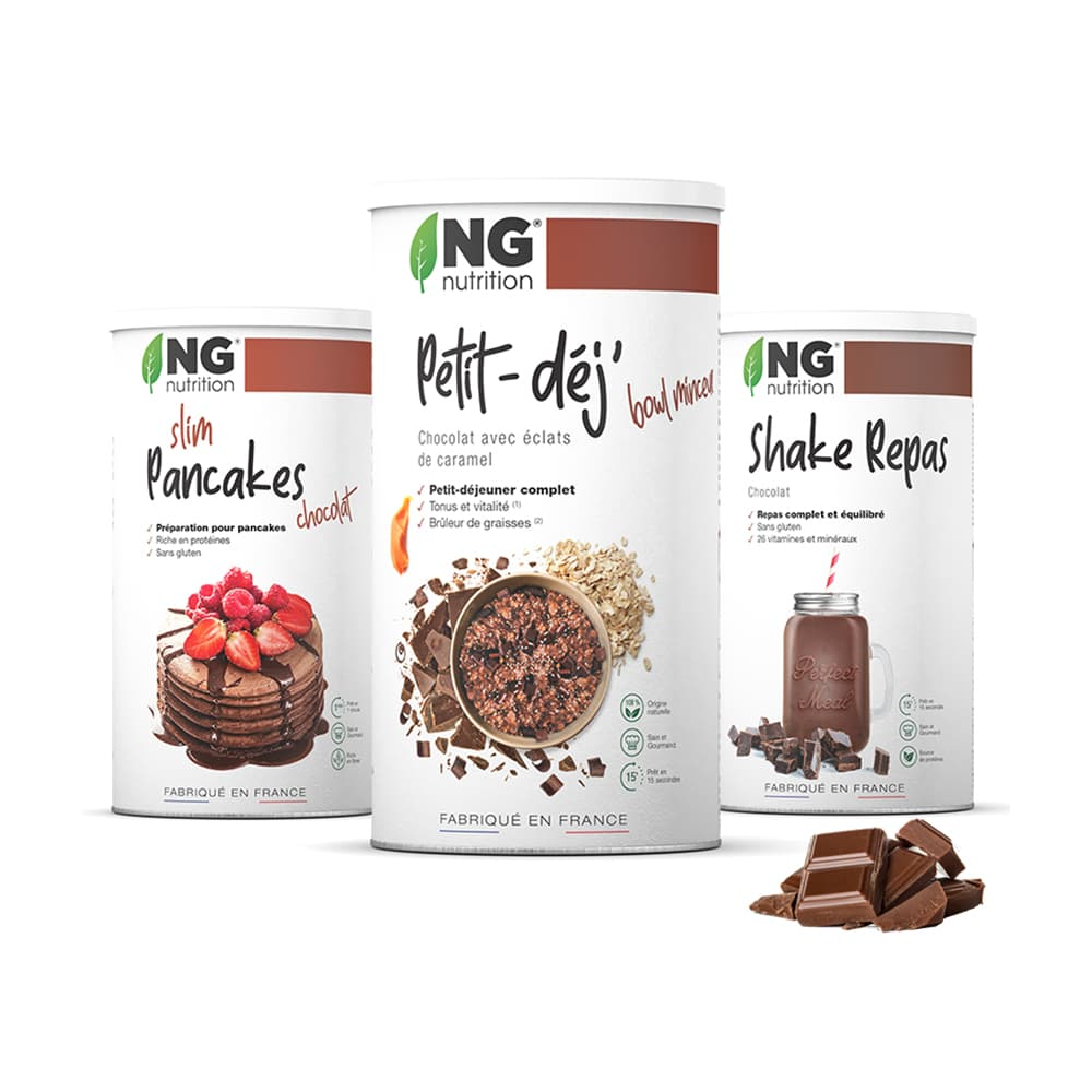 NG Nutrition Pack spécial NG - Le Pack Minceur Chocolat