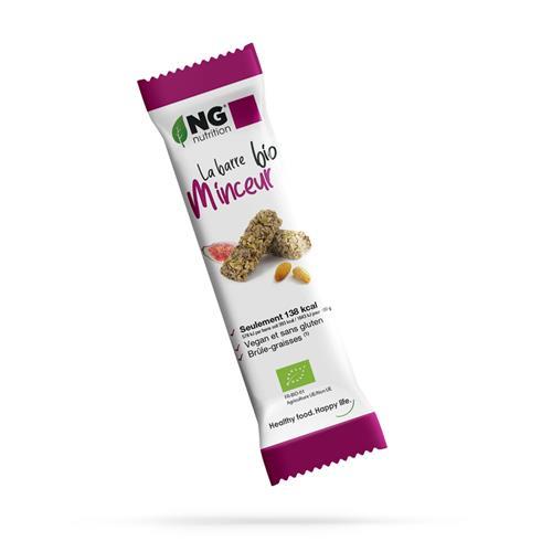Barres protéinées La barre bio minceur NG Nutrition - Fitnessboutique