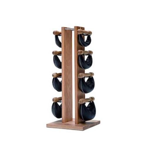 Barres et haltères spécifiques Nohrd Tour Chêne avec poids cuir noir 2,4,6,8 kg