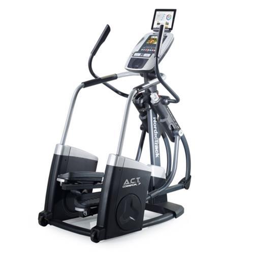 Vélo elliptique New ACT Commercial 7 Nordictrack - Fitnessboutique
