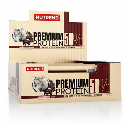 Barres protéinées Nutrend Premium Protein 50%