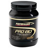 Protéines de sèche Performance Pro 80 Black