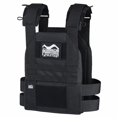 Gilets Lestés PHANTOM ATHELTICS Training vest + plaques 9 kg.