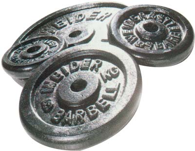 Standard - Diamètre 28mm Weider Disque 2 Kg