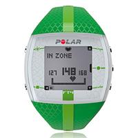 chronomètre montre podomètre Polar FT4F Verte