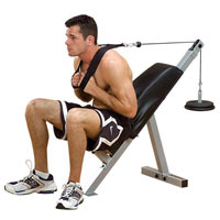 Abdominaux Chaise à abdos Powerline - Fitnessboutique
