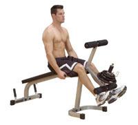 Poste cuisses et mollets Banc leg extension et curl Powerline - Fitnessboutique