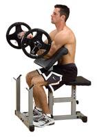 Poste pour les bras Pupitre Biceps Powerline - Fitnessboutique