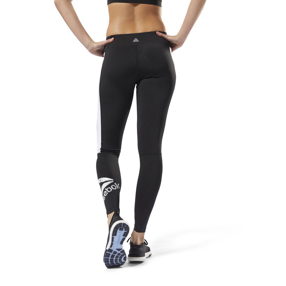 Leggings Legging Lux REEBOK Black White S FitnessBoutique