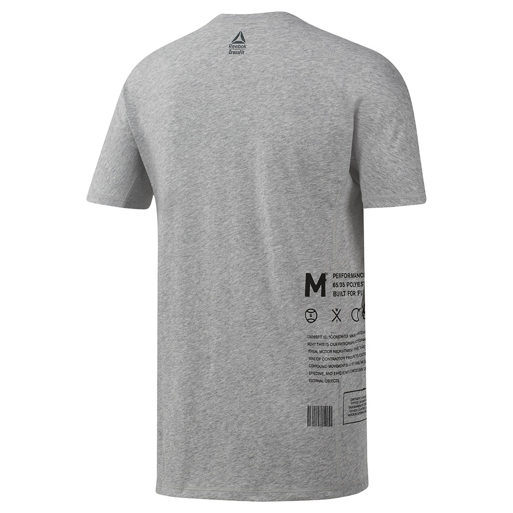 Reebok T Shirt Reebok Crossfit C Graphic Move