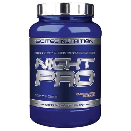 caséine Night Pro Scitec nutrition - Fitnessboutique