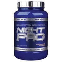 Protéines Night Pro Scitec nutrition - Fitnessboutique