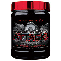 complexe Attack 2 Scitec nutrition - Fitnessboutique