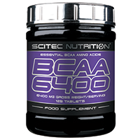 Acides aminés Scitec nutrition BCAA 6400
