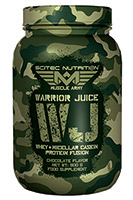 Protéine à Libération Progressive Scitec nutrition Warrior Juice