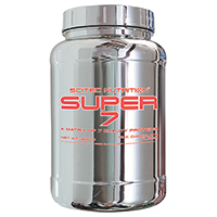 Whey protéine Super 7 Scitec nutrition - Fitnessboutique