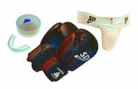Gant de boxe SDI Kit Training kid Junior 6 oz multiboxe.