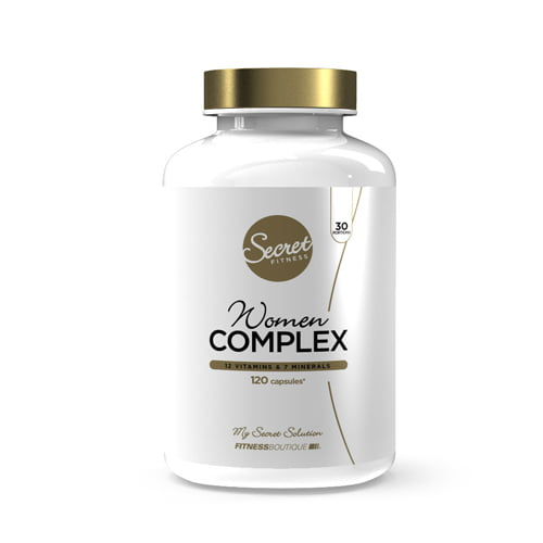 Vitamines-Minéraux Women Complex Secret Fitness - Fitnessboutique