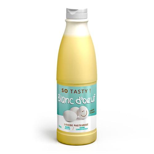 Prêt à Cuisiner Blanc Oeuf Liquide SoTasty - Fitnessboutique
