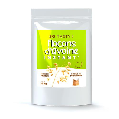 Flocons d'Avoine SoTasty Flocons Avoine Instant' en Poudre