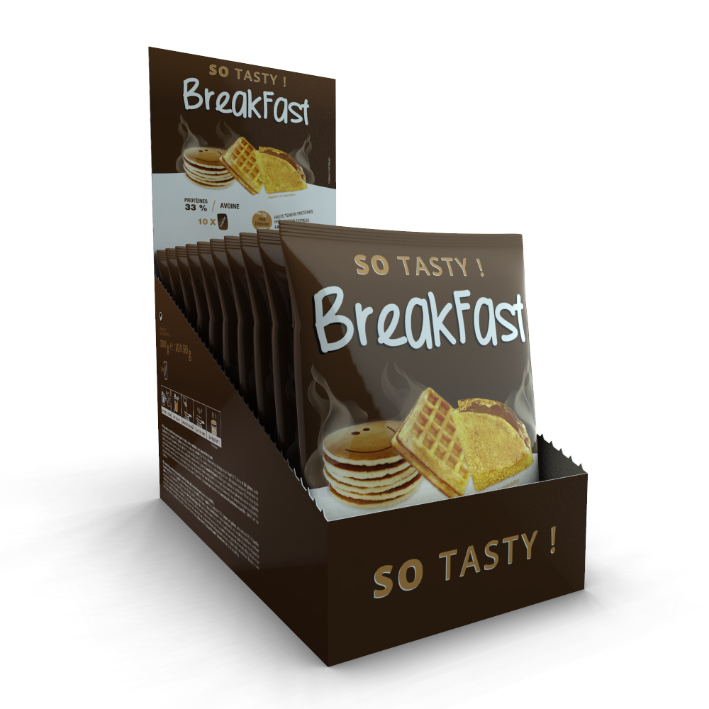 SoTasty Monodose de 50 g - Breakfast / Pancake