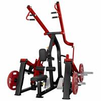 Postes isolés Dual Plate Load  - Lat pulldown / Seated row SteelFlex - Fitnessboutique
