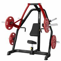 Postes isolés Plate Loaded Seated Decline Press SteelFlex - Fitnessboutique