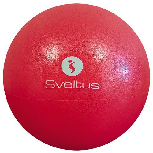 Médecine Ball et Balle lestée Ballon pédagogique rouge 26cm Sveltus - Fitnessboutique