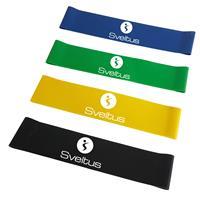 Elastique - Rubber Bande latex light assorties en boîte Sveltus - Fitnessboutique