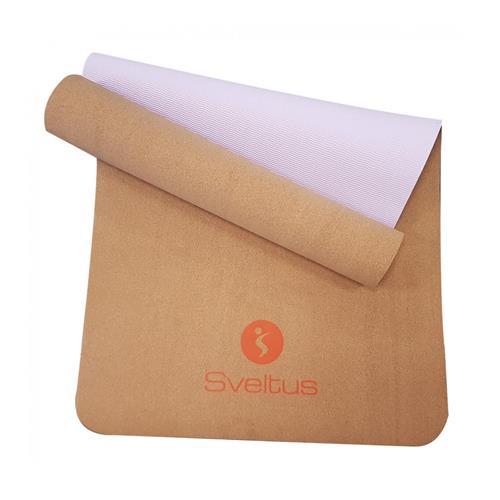 Natte de gym - Tapis de protection Tapis de yoga liège Sveltus - Fitnessboutique