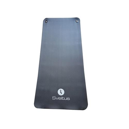 Natte de gym - Tapis de protection Sveltus Tapis training noir 140x60 cm