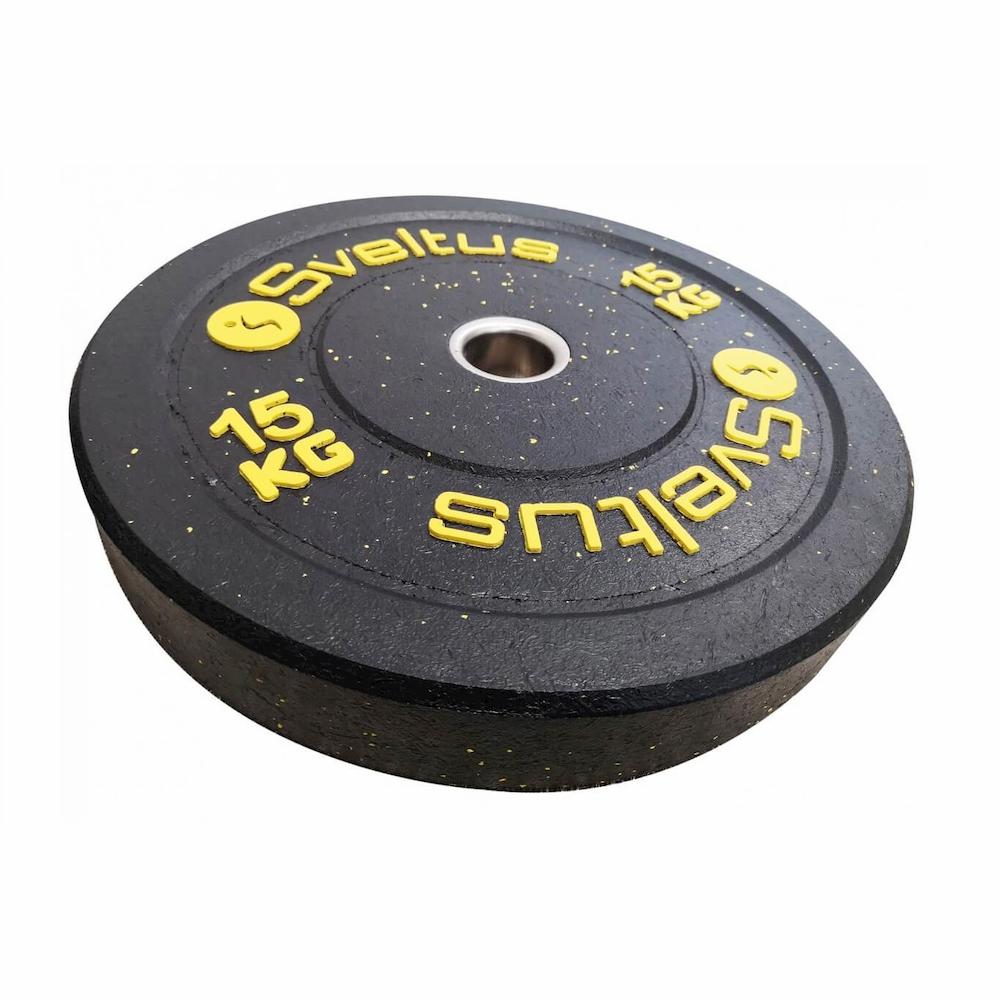 Sveltus Disque olympique bumper 15 kg