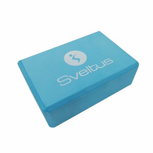 Accessoires Fitness Sveltus Yoga brick mousse bleu