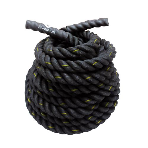 Cordes ondulatoires Battle rope diamètre 26 mm Sveltus - Fitnessboutique