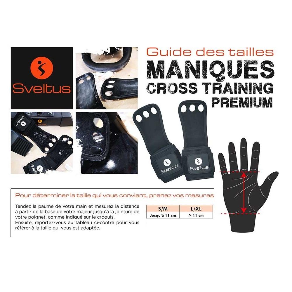 Sveltus Manique cross training premium L/XL x2