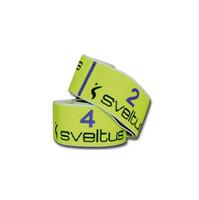 Élastique - Bande de Résistance Sveltus Elastiband 10 kg jaune en boîte avec poster