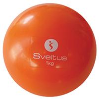 Médecine Ball et Balle lestée Balle Lestée 1 kg Sveltus - Fitnessboutique