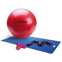 Médecine Ball et Balle lestée Sveltus Pack Easy Fitness