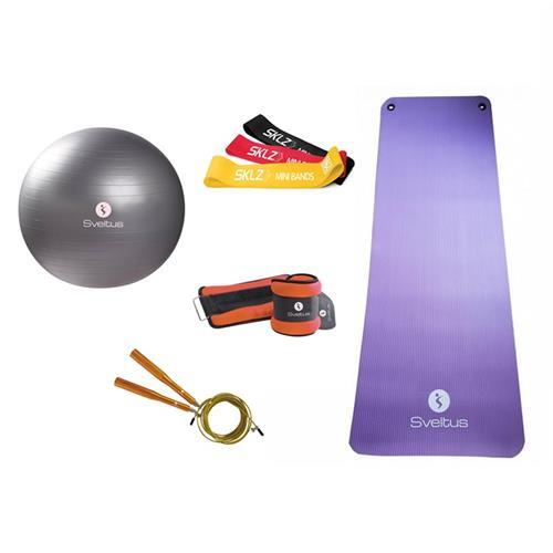 Accessoires Fitness Sveltus Pack renfo/cardio