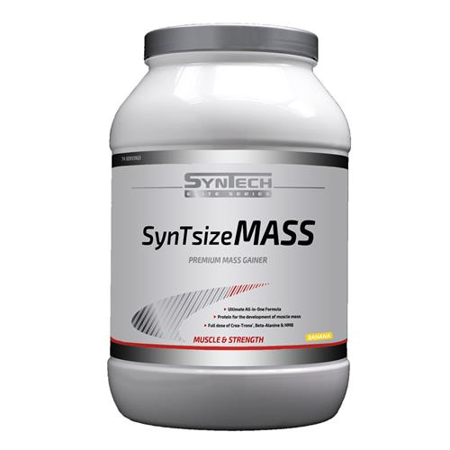 Prise de masse Syntsize Mass Syntech - Fitnessboutique